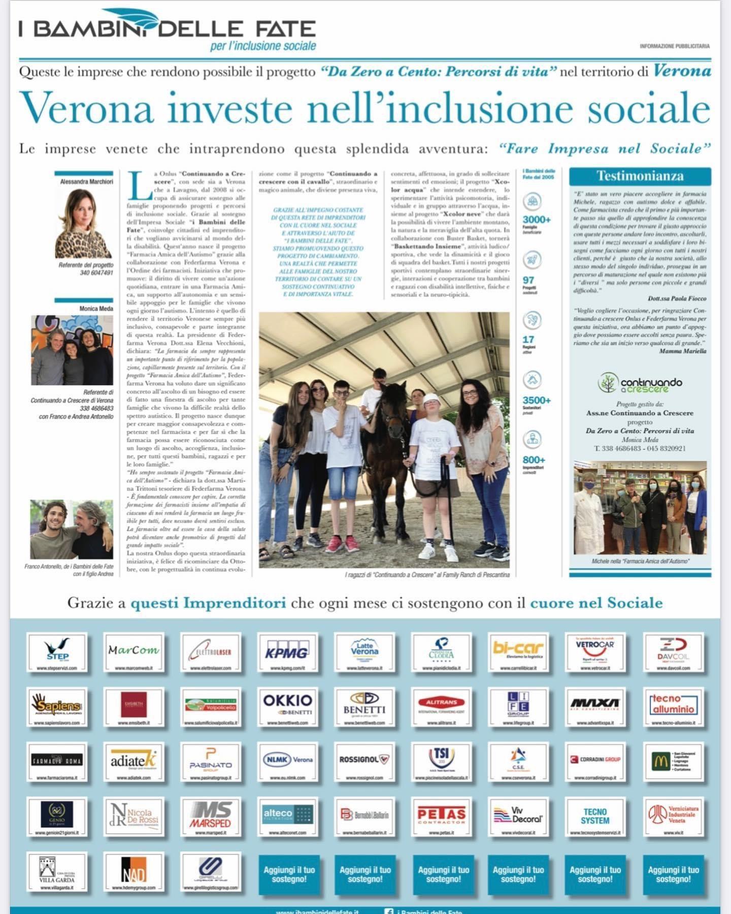 Verona investe nell'inclusione sociale
